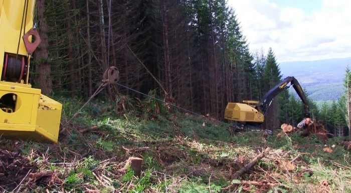 Krume Logging cable assist trial