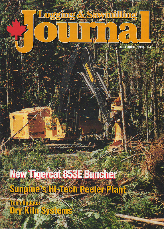 Logging and Sawmilling Journal, October 1994