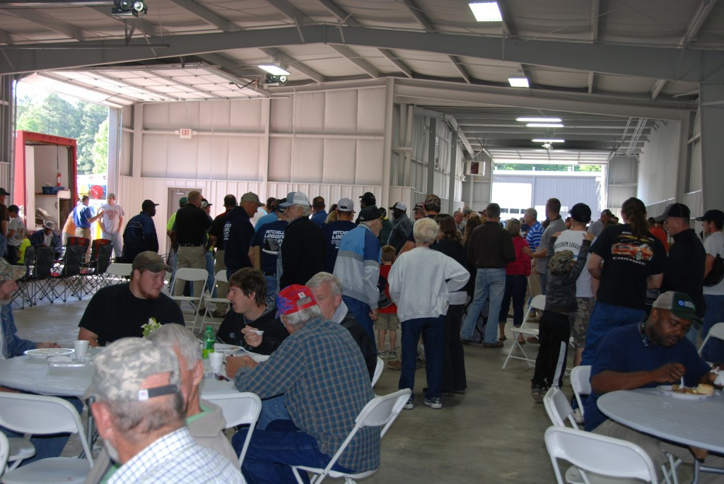 Forest Pro hosted 375 for the open house and breakfast.